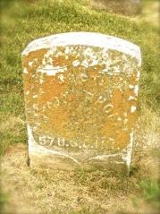 Capt. Milton Rhodes grave marker