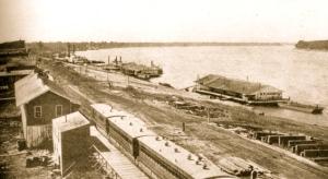Levee at Cairo, Illinois (1864)