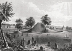The Ancient Mound at Marietta Cemetery