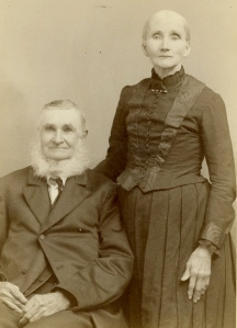 Could this be the same Maggie Todd & John Bennett who's marriage is mentioned in Neal's 1863 letter? This picture is attached to the couple from Webster, NE