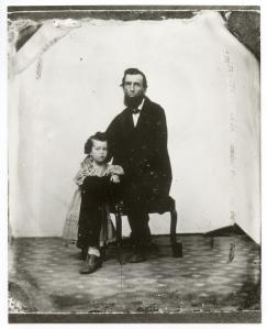 Joseph Kerr & son Andrew (ca. 1866)