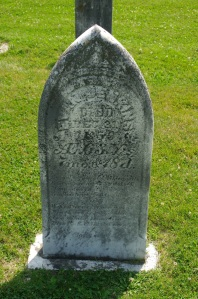 Evan Jenkins' Grave Marker
