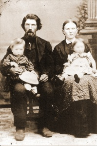 Ed Bebb not only survived a bullet wound in February 1861, he survived the Civil War, married, & raised a family.