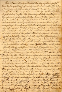 Portion of Lot's Entry for 3 April 1859