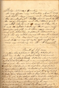 A. Cornwell's entry & Lot's 4th of July 1859 entry