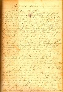 Lot's 11 August 1860 describing Political Mass Meeting.