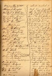 Lot's 6 November 1861 entry
