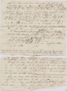 Lot Abraham's Draft Letter