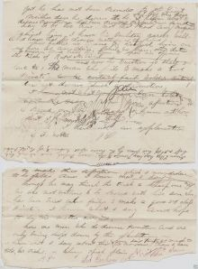 Lot Abraham's Draft Letter