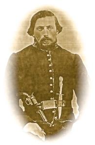 Sgt. Evan E. Bebb of the 4th Iowa Cavalry, Co. D