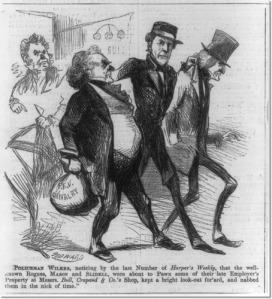 Mason & Slidell Political Cartoon (1861)