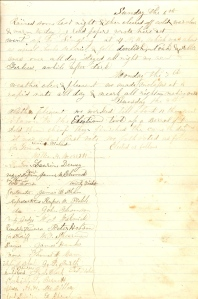Includes 8 October 1861 Iowa State Election for Governor & lesser offices.