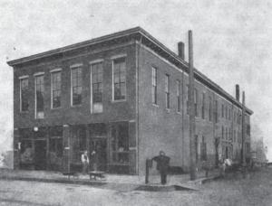In the 1860s, the German Theater of Davenport was held in Lahrmann's Germania Hall.