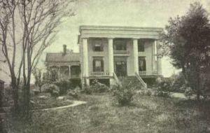 Robert Toomb's Home in Washington, Ga.