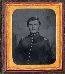 Capt. Lot Abraham led the 4th Iowa Cavalry against the Rebels Works at Columbus, Ga.