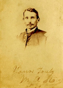 Lt. Miles A. Stacy, 36th O.V.I., Ohio History Collection