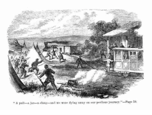 A scene from the book