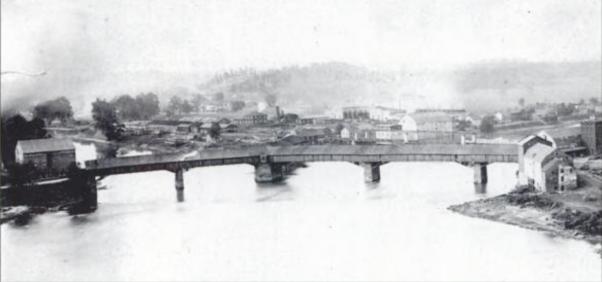 Zanesville, Ohio in 1863